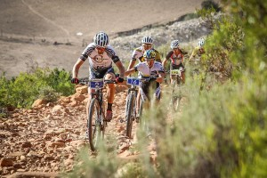 The terrain is so tough that even the pros get forced off their bikes in places (Pic: Attakwas)