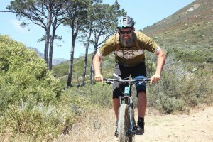 Meurant Botha in riding mode (Pic: IOL)