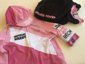 Our Cape Epic kit - that is a lot of pink!