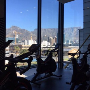 Please excuse the quality of this pic that I grabbed off the interwebs, but I wanted to illustrate the view one has when riding a Wattbike at the Virgin Active in the Silo District.