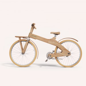 We passed a group of these wooden bikes on Sunday (would that be a grove of them?)