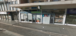 The shops' exterior (pic: Google)